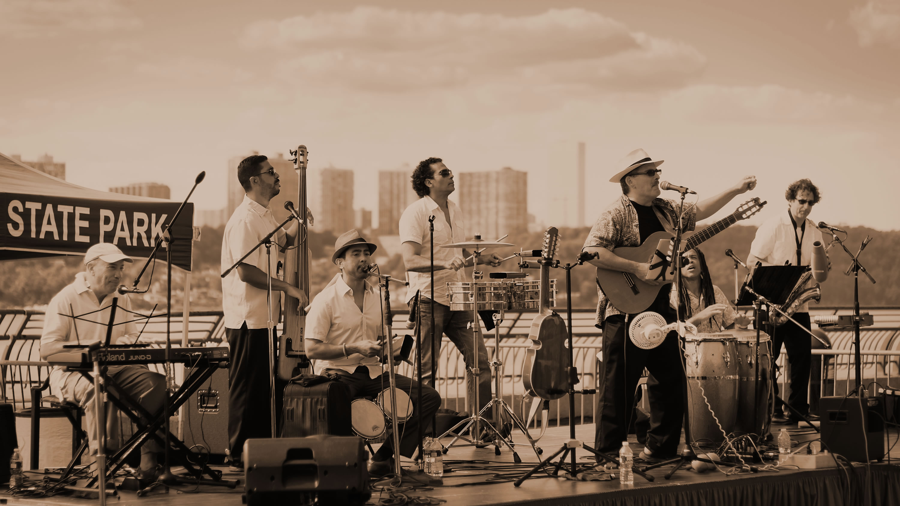 Sonido-Costeno-Latin-Band-Riverbank-Staet-Park-Washington-Heights-NYC-Outdoor-Summer-Music-Series-concert