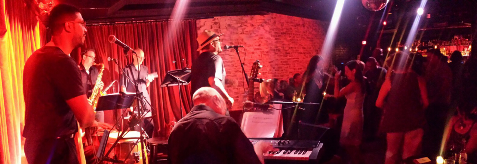 Sonido-Costeno-Salsa-orchestra-banner-shot-dancing-crowd-Subrosa-Blue-Note-Group-Highline-ballroom-club-Blue-Note-NYC